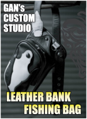 GANCRAFT ORIGINAL LEATHER BANK FISHINH BAG